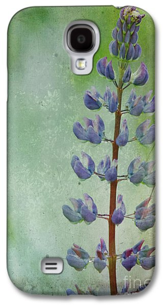 Maine Meadow Galaxy S4 Cases - Lupine Galaxy S4 Case by Cindi Ressler