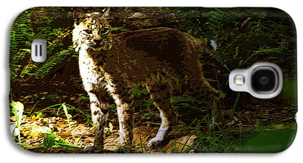 Lynx Rufus Galaxy S4 Case by David Lee Thompson