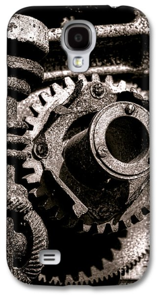 Transmission Galaxy S4 Cases - Machination  Galaxy S4 Case by Olivier Le Queinec
