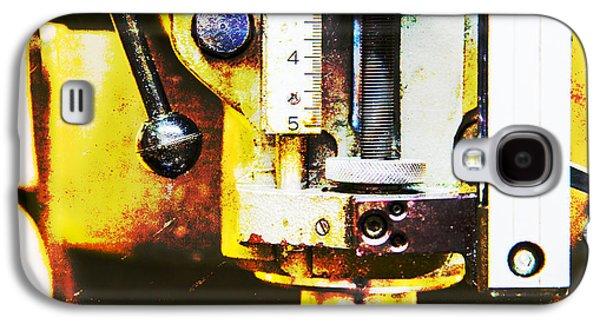 Mechanism Galaxy S4 Cases - Machine Shop Grunge 11 Galaxy S4 Case by Darrell Hutto