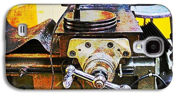 Mechanism Galaxy S4 Cases - Machine Shop Grunge 5 Galaxy S4 Case by Darrell Hutto