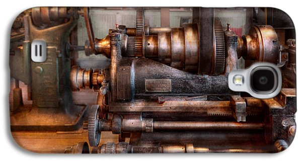 Old Mill Scenes Photographs Galaxy S4 Cases - Machinist - Steampunk - 5 Speed Semi Automatic Galaxy S4 Case by Mike Savad