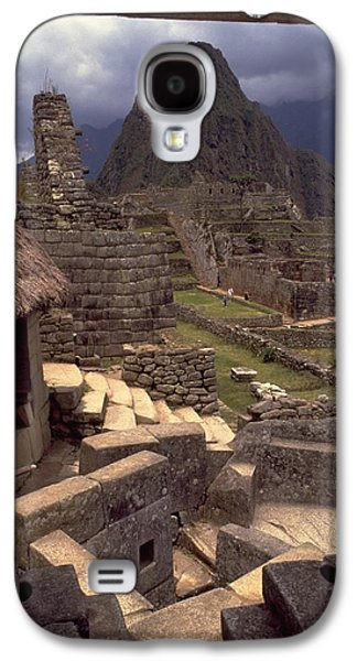 Galaxy S4 Case featuring the photograph Machu Picchu by Travel Pics