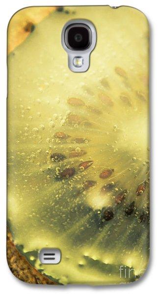 Macro Shot Of Submerged Kiwi Fruit Galaxy S4 Case by Jorgo Photography - Wall Art Gallery