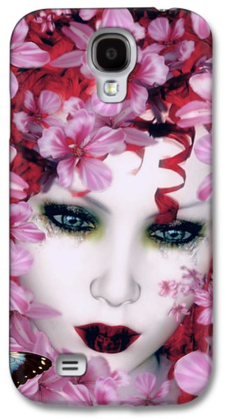 Madame Butterfly Galaxy S4 Case by Shanina Conway