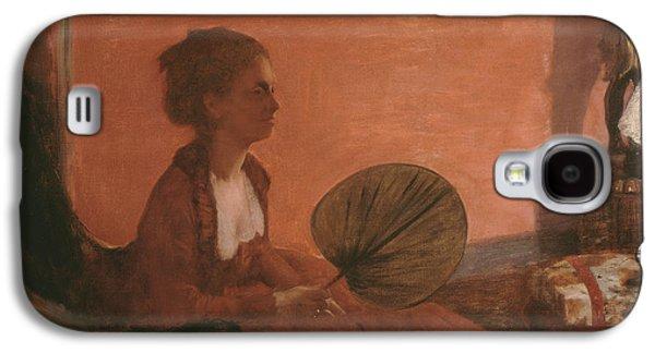 Madame Camus Galaxy S4 Case by Edgar Degas