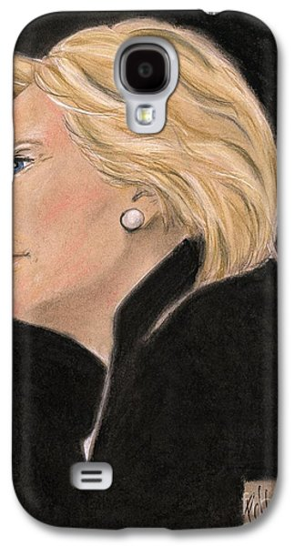 Madame President Galaxy S4 Case by P J Lewis
