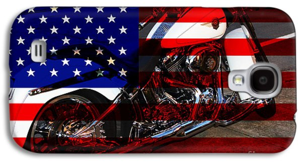 Wing Tong Galaxy S4 Cases - Made In The USA . Harley-Davidson . 7D12757 Galaxy S4 Case by Wingsdomain Art and Photography