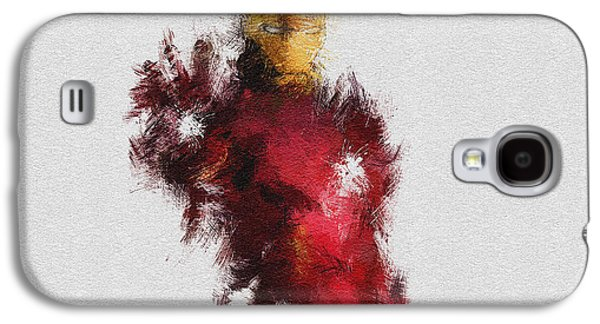 Character Portraits Paintings Galaxy S4 Cases - Made of Iron Galaxy S4 Case by Miranda Sether