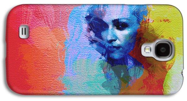 Papa Galaxy S4 Cases - Madonna Galaxy S4 Case by Naxart Studio