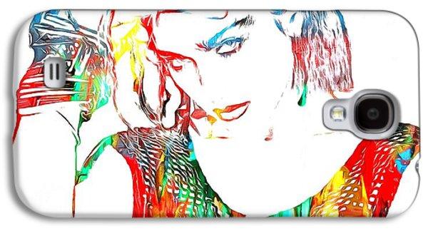 Madonna Watercolor Galaxy S4 Case by Dan Sproul