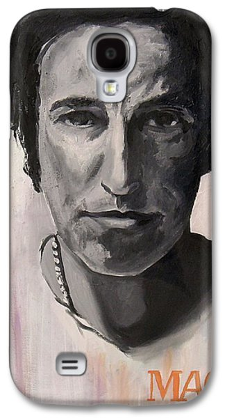 Bruce Springsteen Paintings Galaxy S4 Cases - Magic - Bruce Springsteen Galaxy S4 Case by Khairzul MG