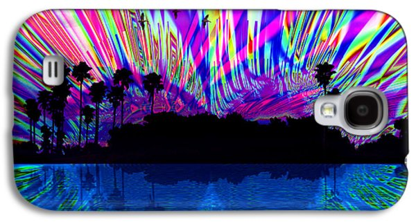 Dreamscape Galaxy S4 Cases - Magic Island Galaxy S4 Case by Roger Wedegis