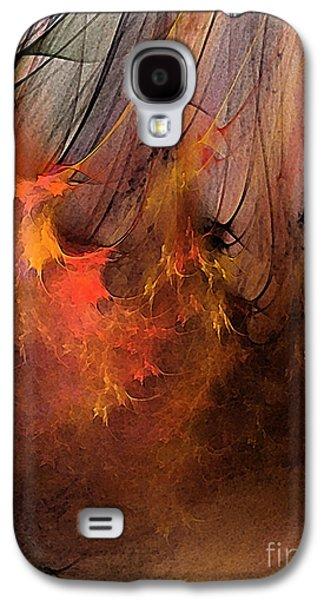 Contemplative Digital Galaxy S4 Cases - Magic Galaxy S4 Case by Karin Kuhlmann