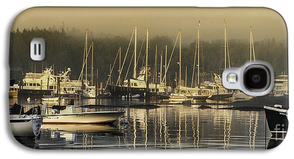 Mid-coast Maine Galaxy S4 Cases - Magical Light of Mt Desert Island Galaxy S4 Case by Thomas Schoeller