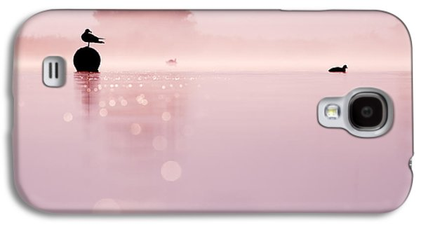 Dreamscape Galaxy S4 Cases - Magical Misty Morning Galaxy S4 Case by Roeselien Raimond