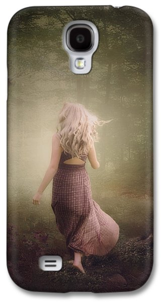Girl Galaxy S4 Cases - Magically light Galaxy S4 Case by Cindy Grundsten