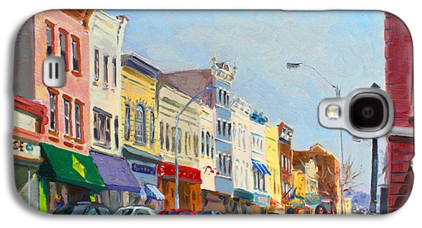 Main Street Nayck  Ny  Galaxy S4 Case by Ylli Haruni