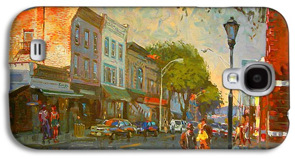 Main Street Galaxy S4 Cases - Main Street Nyack NY  Galaxy S4 Case by Ylli Haruni