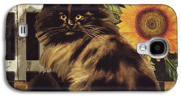 Maine Farms Galaxy S4 Cases - Maine Coon Farms Galaxy S4 Case by Mindy Sommers
