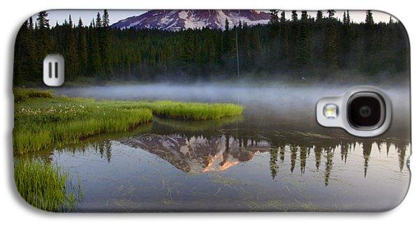Fog Mist Galaxy S4 Cases - Majestic Dawn Galaxy S4 Case by Mike  Dawson
