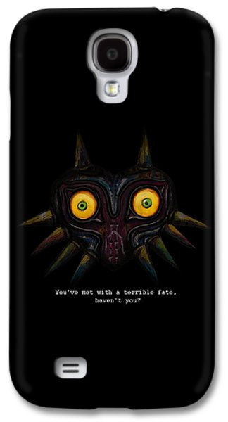 Recently Sold -  - Abstract Digital Digital Galaxy S4 Cases - Majoras Mask Galaxy S4 Case by Ana Djurkovic