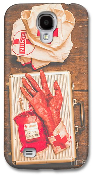 Make Your Own Frankenstein Medical Kit  Galaxy S4 Case by Jorgo Photography - Wall Art Gallery