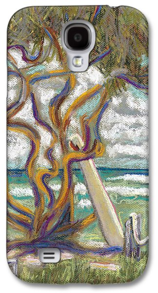 Beach Landscape Pastels Galaxy S4 Cases - Malaekahana Tree Galaxy S4 Case by Patti Bruce - Printscapes