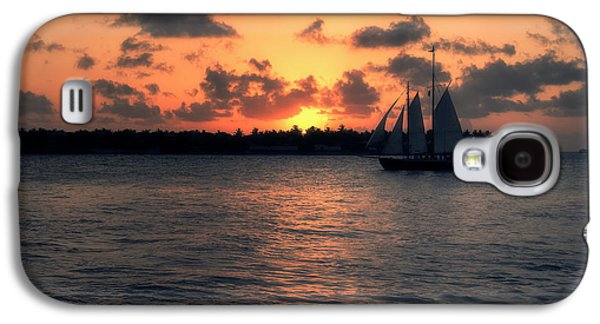 Landmarks Photographs Galaxy S4 Cases - Mallory Square Sunset - Key West Galaxy S4 Case by Kim Hojnacki