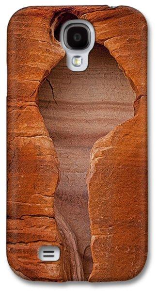 Kelley King Galaxy S4 Cases - Man in Rock Galaxy S4 Case by Kelley King