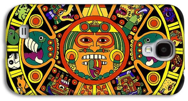 Mandala Azteca Galaxy S4 Case by Roberto Valdes Sanchez