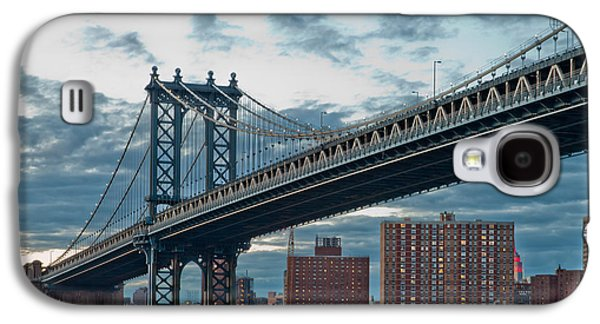 Midtown Galaxy S4 Cases - Manhattan Classic Galaxy S4 Case by Az Jackson