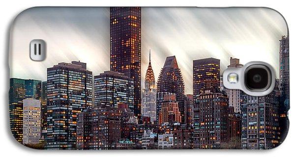 Manhattan Daze Galaxy S4 Case by Az Jackson