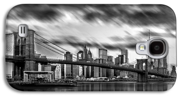 Manhattan Moods Galaxy S4 Case by Az Jackson