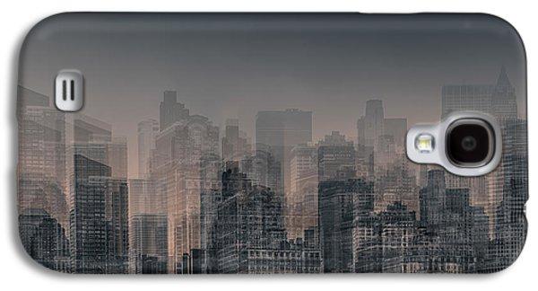 Manhattan Moves Galaxy S4 Case by Az Jackson