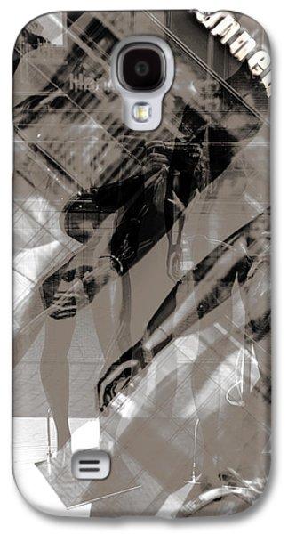 Shirt Digital Art Galaxy S4 Cases - Mannequin dolls  Galaxy S4 Case by Toppart Sweden