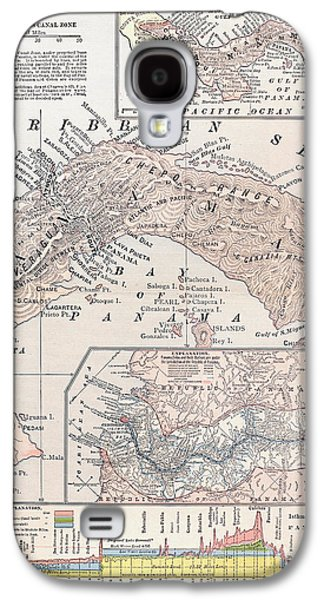 1907 Galaxy S4 Cases - Map: Panama, 1907 Galaxy S4 Case by Granger