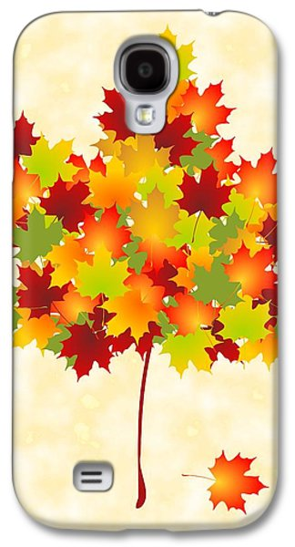 Maple Leaves Galaxy S4 Case by Anastasiya Malakhova