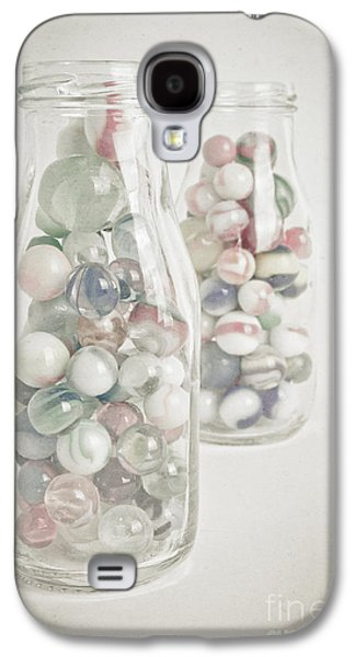 Marble Galaxy S4 Cases - Marble Memories Galaxy S4 Case by Edward Fielding