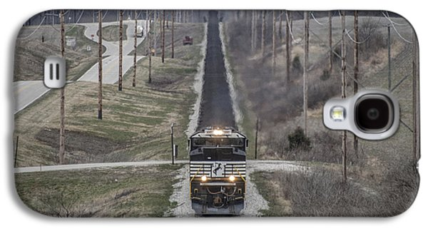 Evansville Galaxy S4 Cases - March 18. 2015 - Norfolk Southern NDN1 Galaxy S4 Case by Jim Pearson