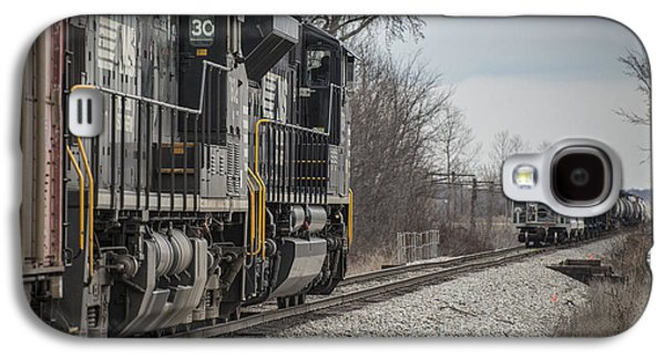 Evansville Galaxy S4 Cases - March 18. 2015 - Norfolk Southerns loaded coal train NDN-1 Galaxy S4 Case by Jim Pearson