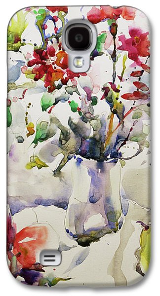 March Greeting Galaxy S4 Case by Becky Kim