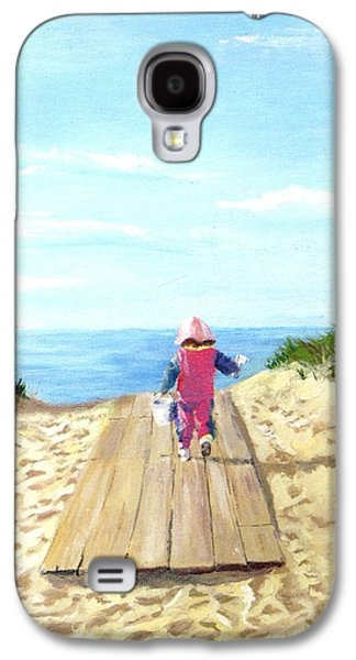 Jack Skinner Galaxy S4 Cases - March to the Beach Galaxy S4 Case by Jack Skinner