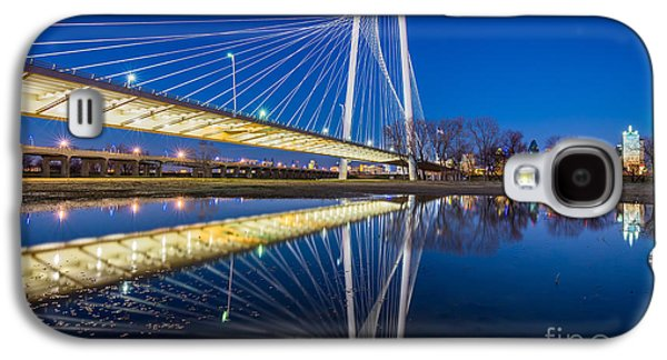 Margaret Hunt Hill Bridge Reflection Galaxy S4 Case by Inge Johnsson
