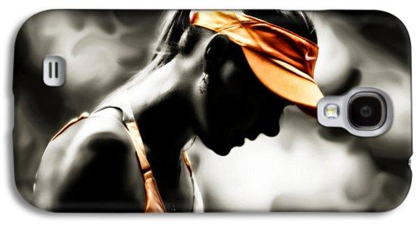 Maria Sharapova Deep Focus Galaxy S4 Case by Brian Reaves