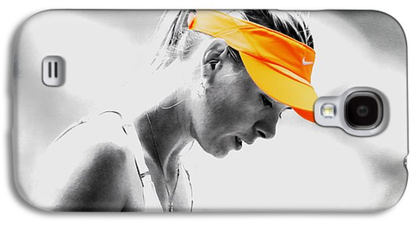 Maria Sharapova Stay Focused Galaxy S4 Case by Brian Reaves