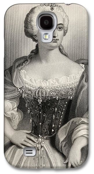Austria Drawings Galaxy S4 Cases - Maria Theresa, Archduchess Of Austria Galaxy S4 Case by Vintage Design Pics
