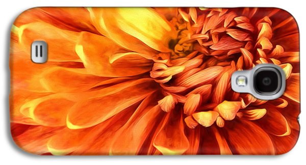 Marigold Macro Galaxy S4 Case by Karl Fritz