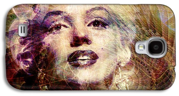 Marilyn Galaxy S4 Case by Barbara Berney