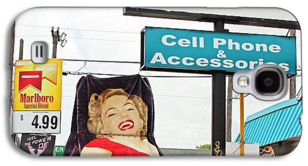 Humorous Greeting Cards Galaxy S4 Cases - Marilyn Marked Down Galaxy S4 Case by Joe Jake Pratt